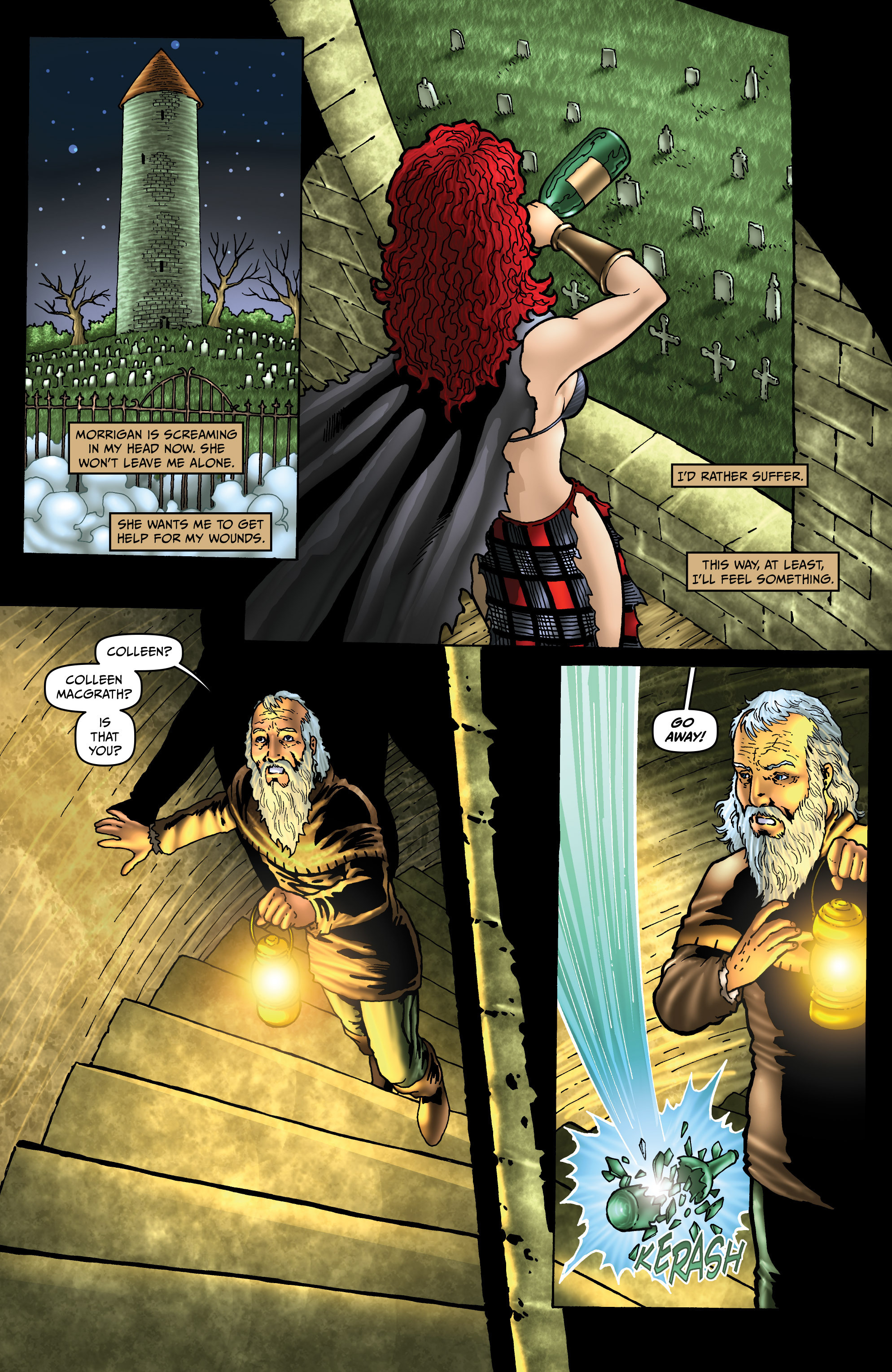 Read online Belladonna: Origins comic -  Issue #4 - 17