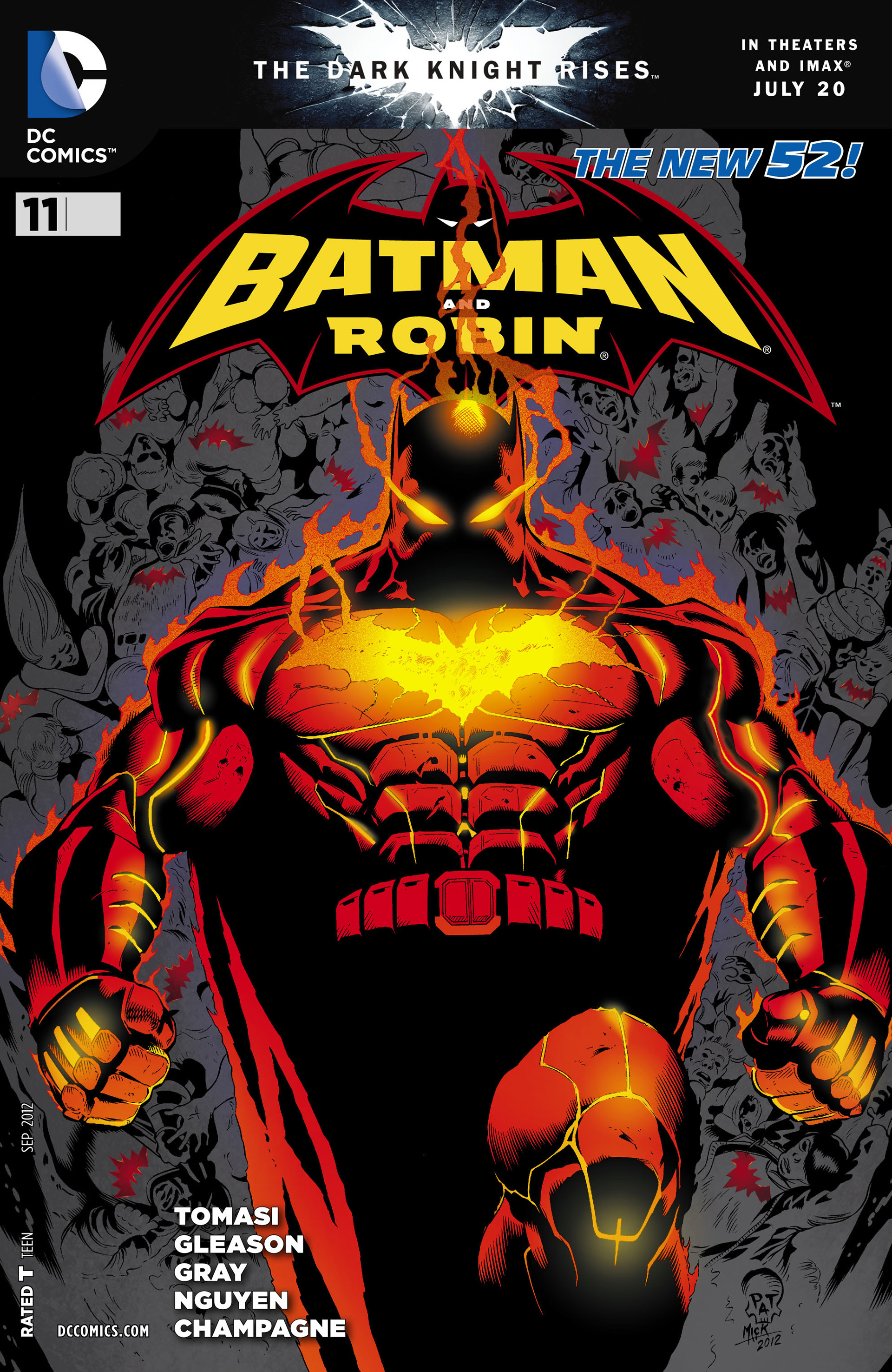 Read online Batman and Robin (2011) comic -  Issue #11 - 1