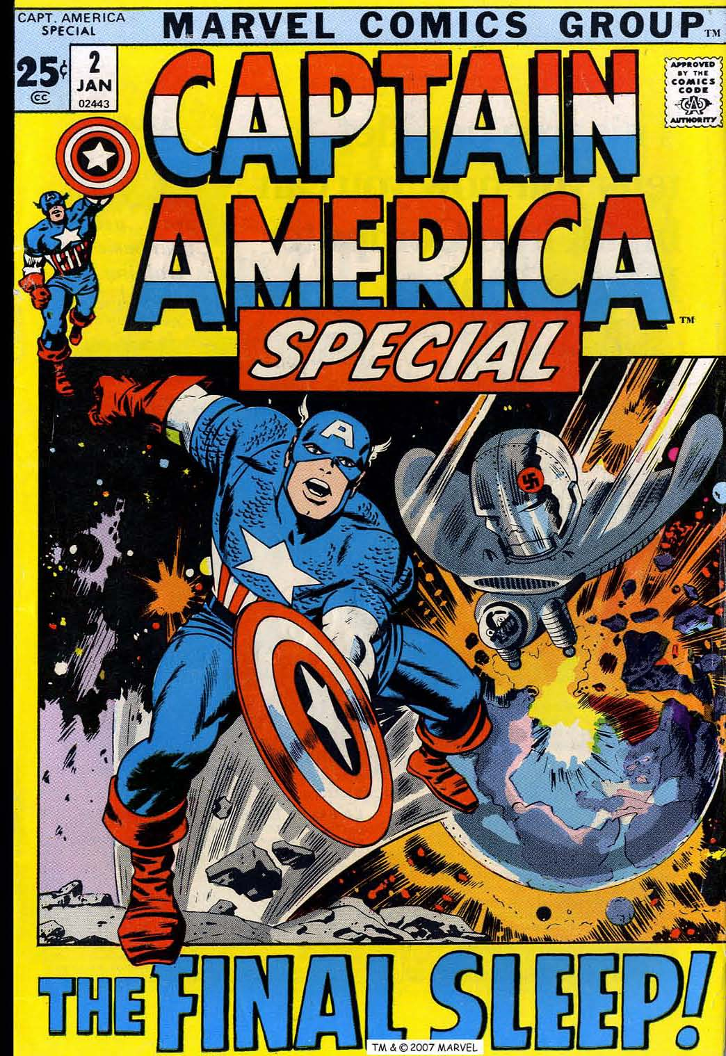 Read online Captain America (1968) comic -  Issue # _Annual 2 - 1