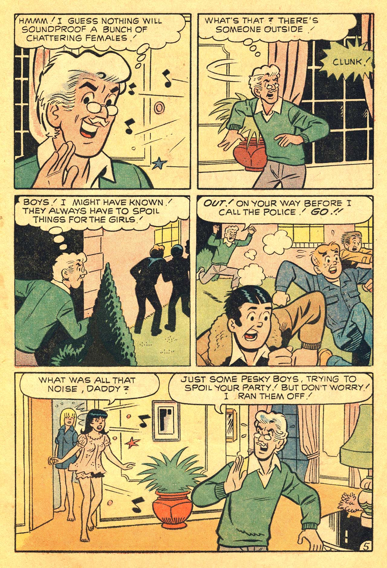Read online Archie's Girls Betty and Veronica comic -  Issue #210 - 7