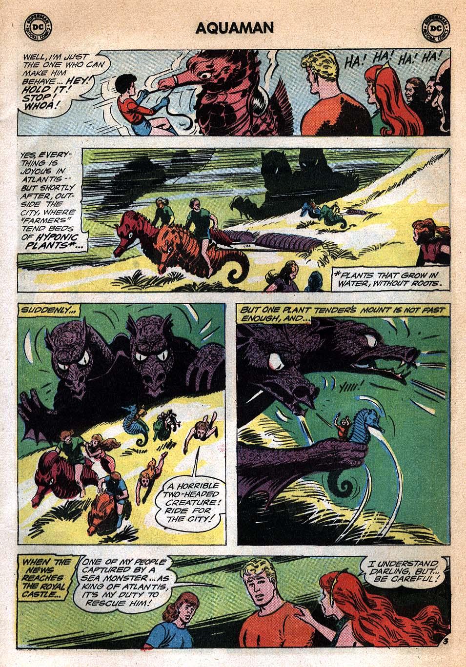 Read online Aquaman (1962) comic -  Issue #20 - 5