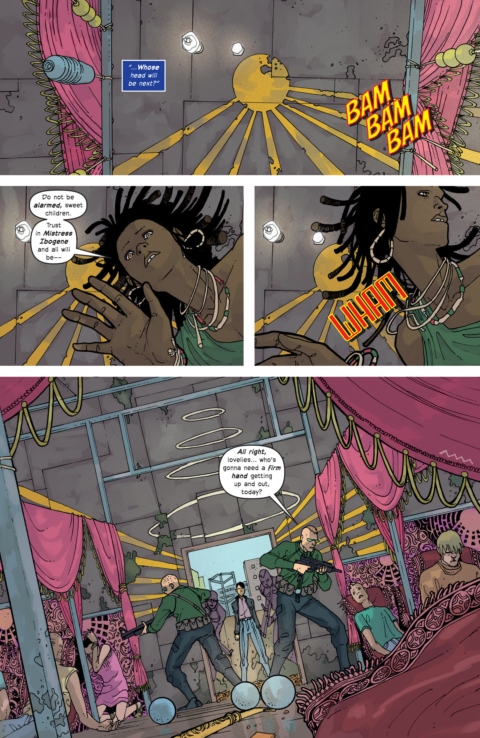 Read online Great Pacific comic -  Issue #14 - 13