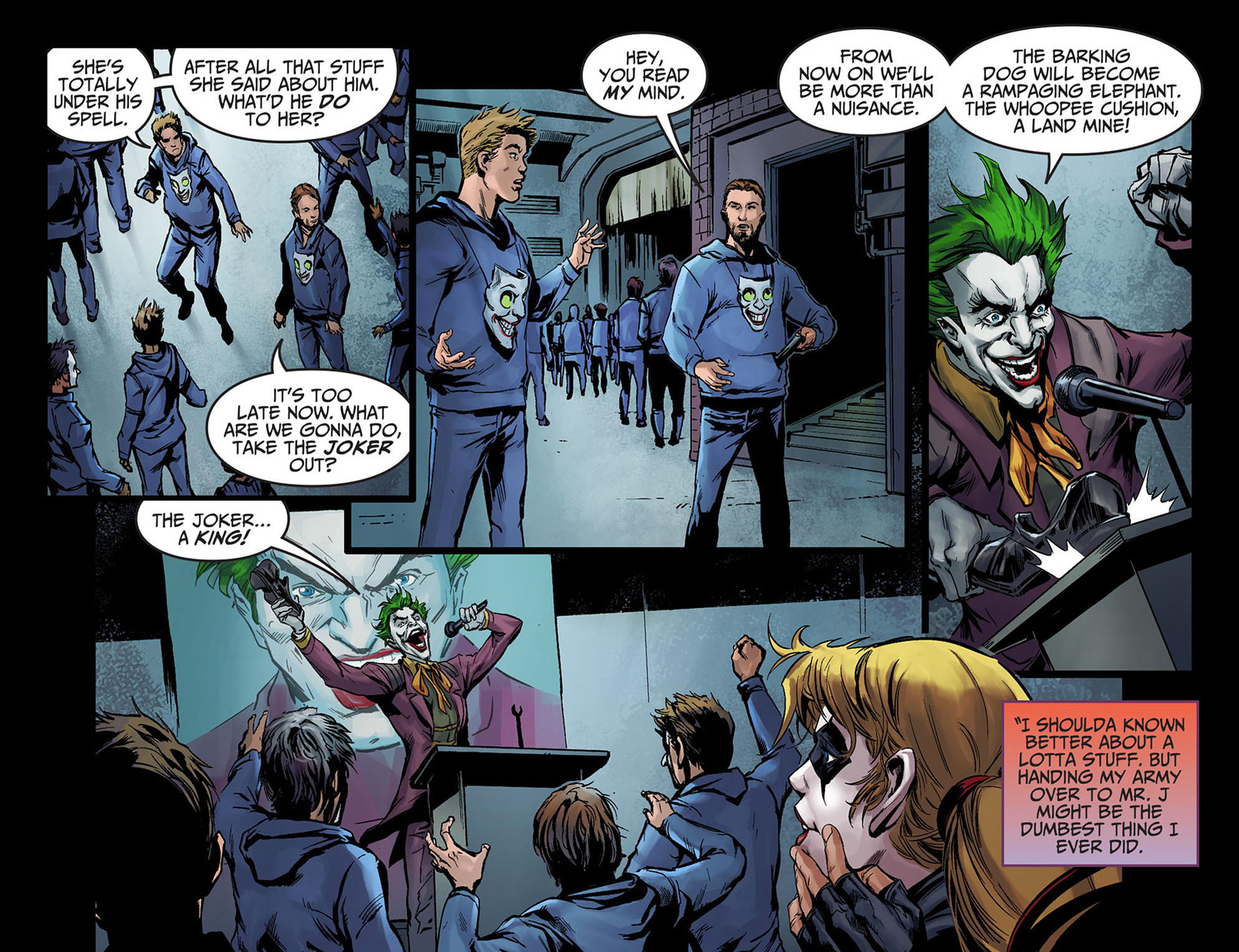 Read online Injustice: Ground Zero comic -  Issue #5 - 18