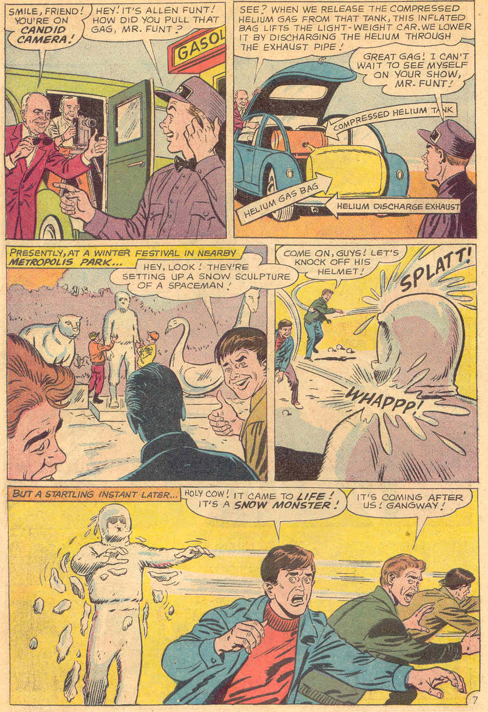 Read online Action Comics (1938) comic -  Issue #345 - 10