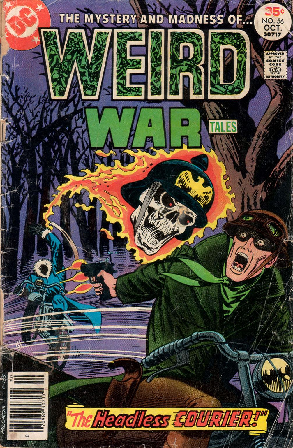 Weird War Tales (1971) issue 56 - Page 1