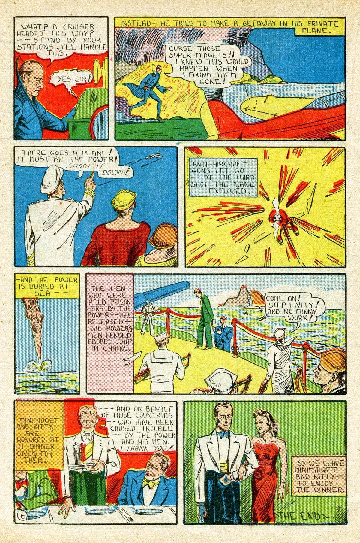 Read online Amazing Man Comics comic -  Issue #8 - 42