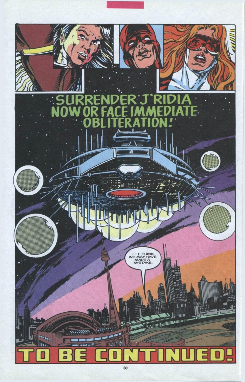 Read online Alpha Flight (1983) comic -  Issue #97 - 23