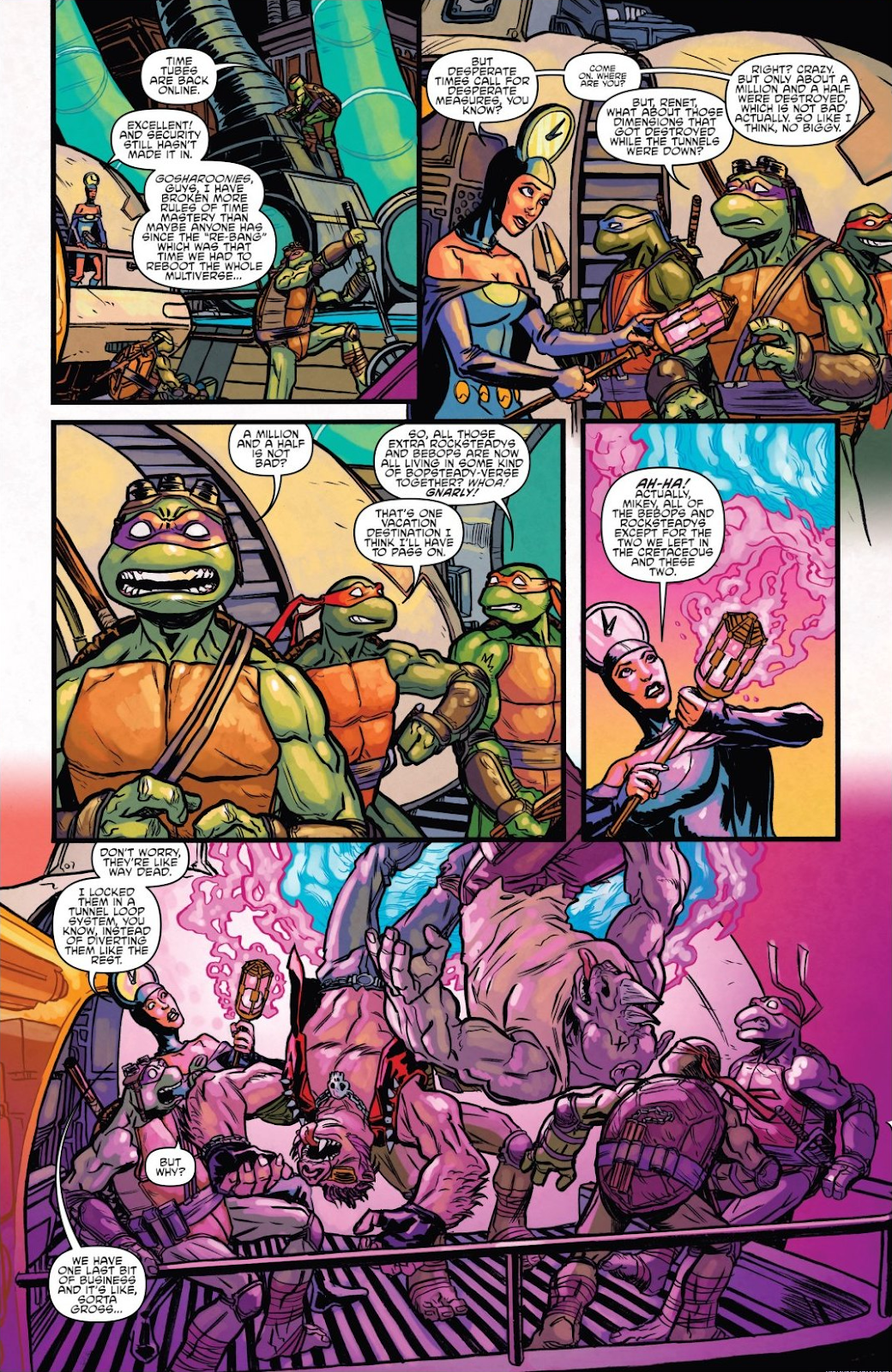 Read online Teenage Mutant Ninja Turtles: The IDW Collection comic -  Issue # TPB 8 (Part 2) - 3