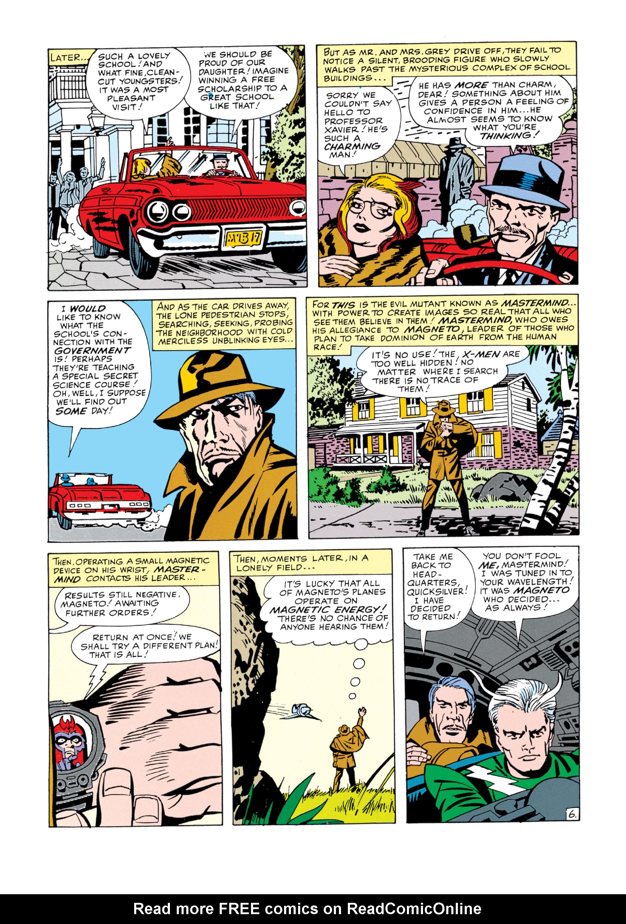 Read online Uncanny X-Men (1963) comic -  Issue #5 - 7