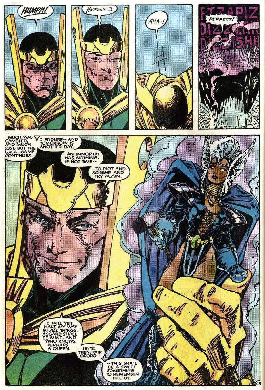 Read online Uncanny X-Men (1963) comic -  Issue # _Annual 9 - 50