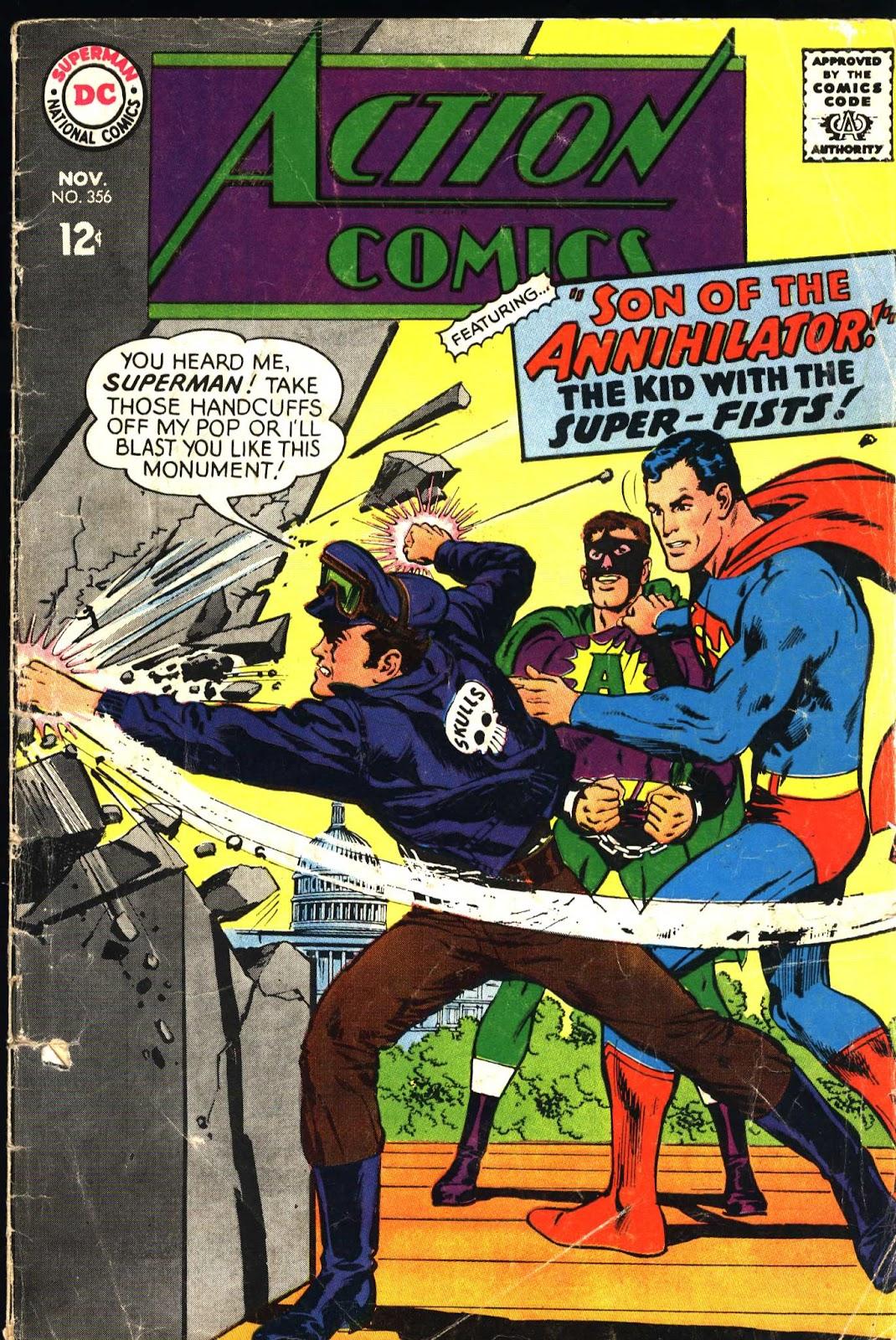 Action Comics (1938) 356 Page 1