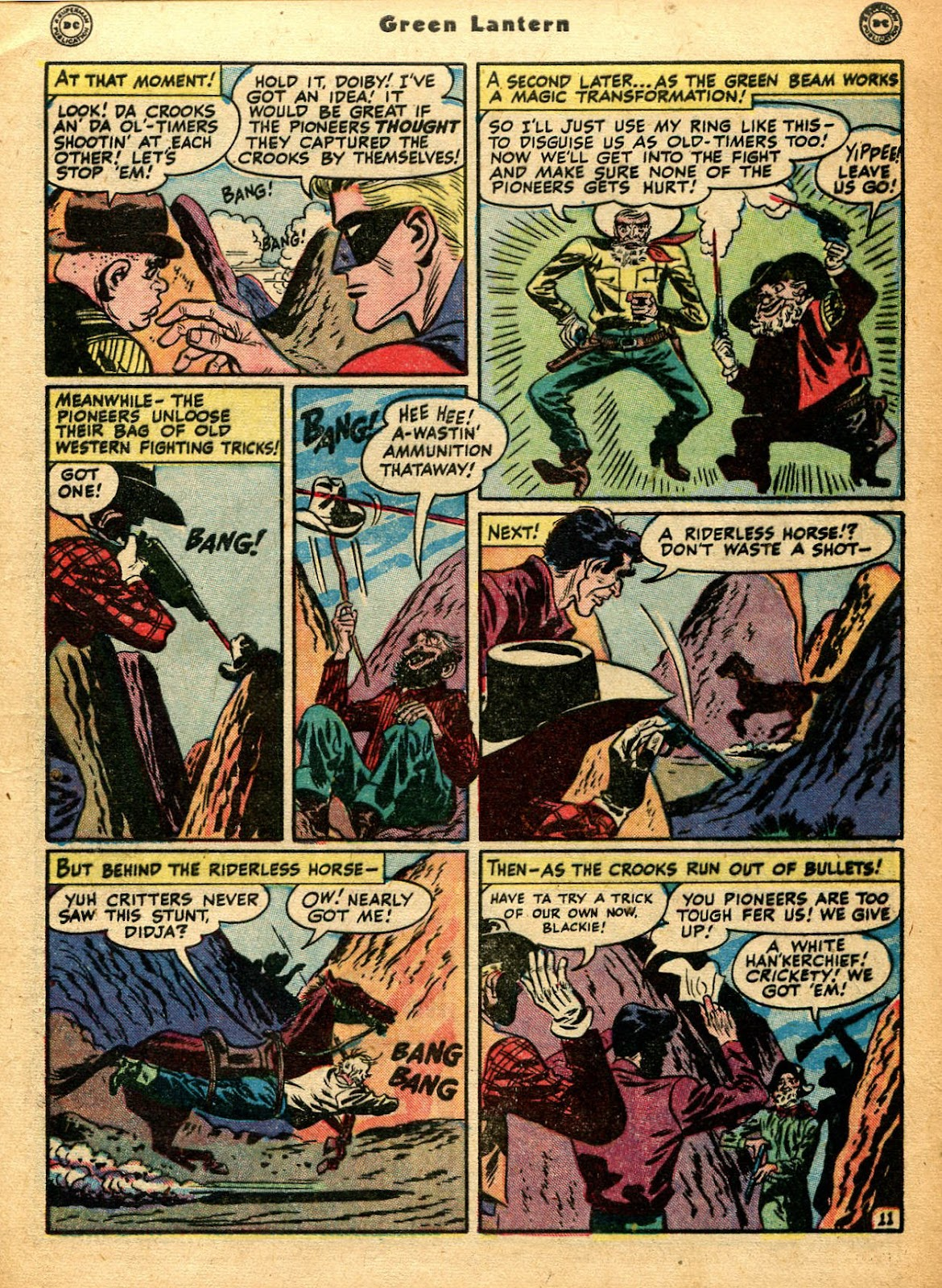Green Lantern (1941) Issue #33 #33 - English 14