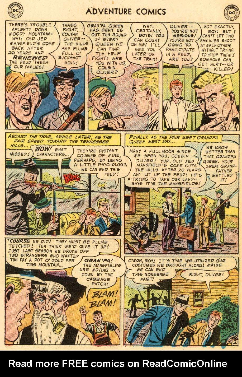 Read online Adventure Comics (1938) comic -  Issue #228 - 28