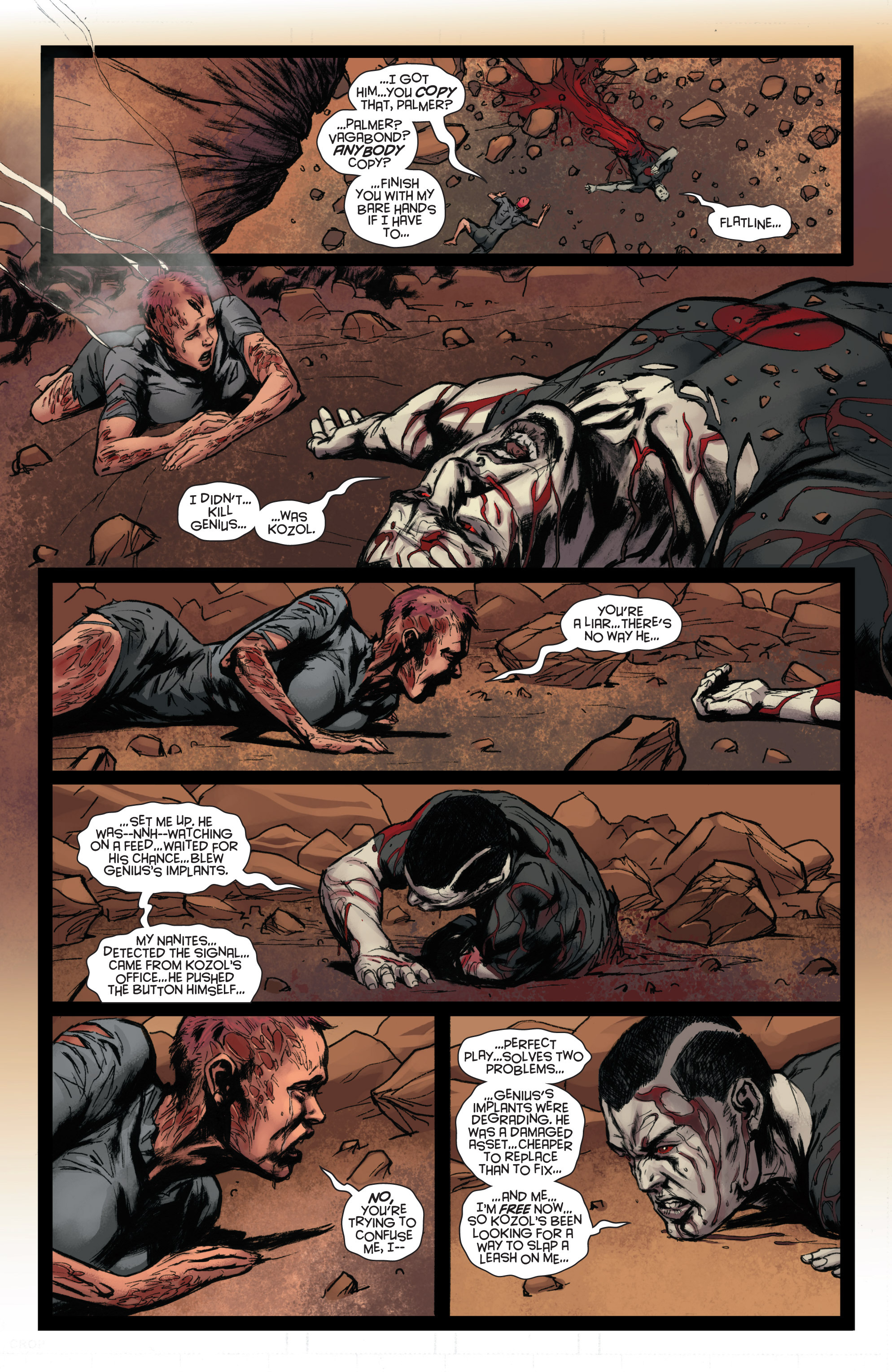 Read online Bloodshot and H.A.R.D.Corps comic -  Issue #22 - 22