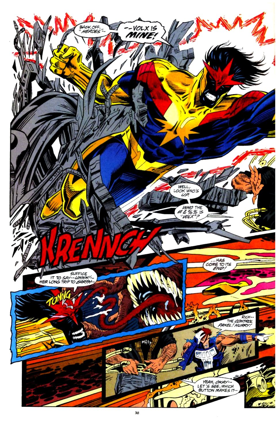 The New Warriors Issue #60 #64 - English 29