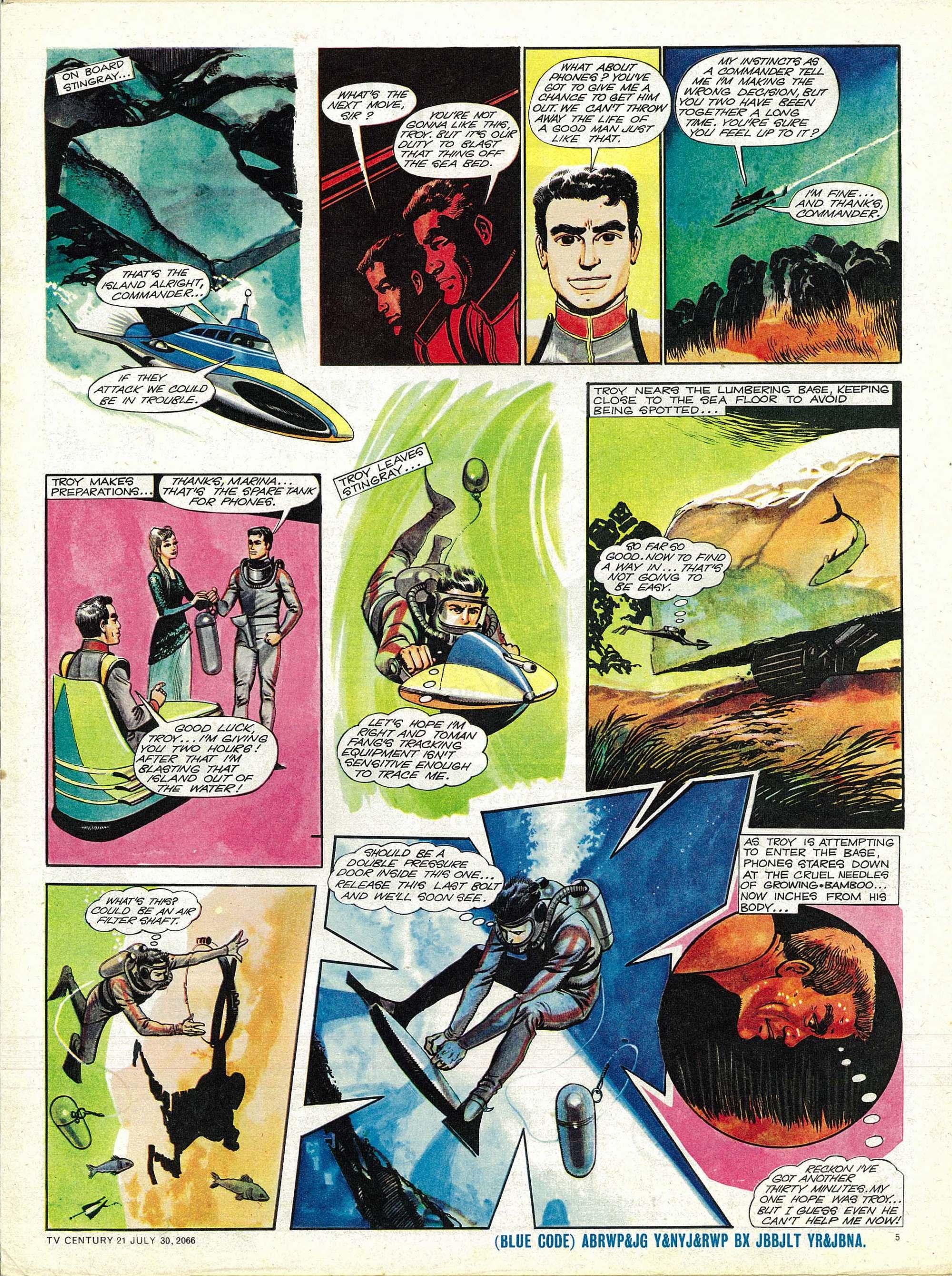 Read online TV Century 21 (TV 21) comic -  Issue #80 - 5