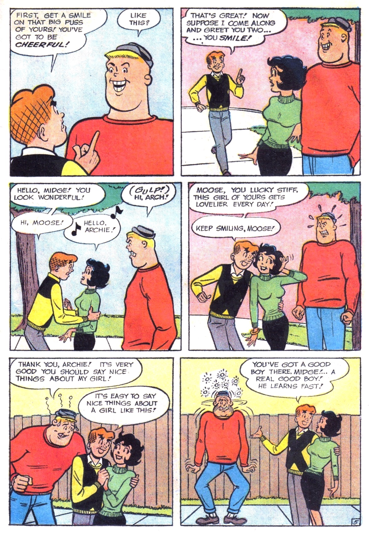 Read online Archie (1960) comic -  Issue #147 - 7