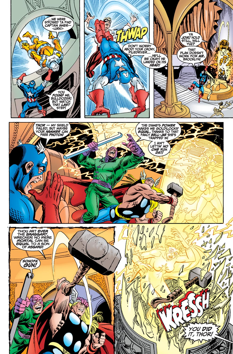 Read online Avengers (1998) comic -  Issue #18 - 16