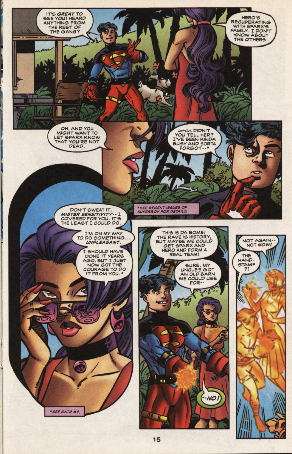 Read online Superboy & The Ravers comic -  Issue #13 - 16