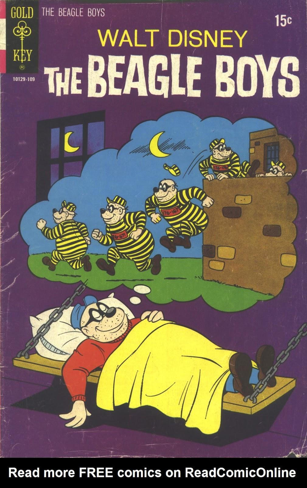 Walt Disney THE BEAGLE BOYS issue 12 - Page 1