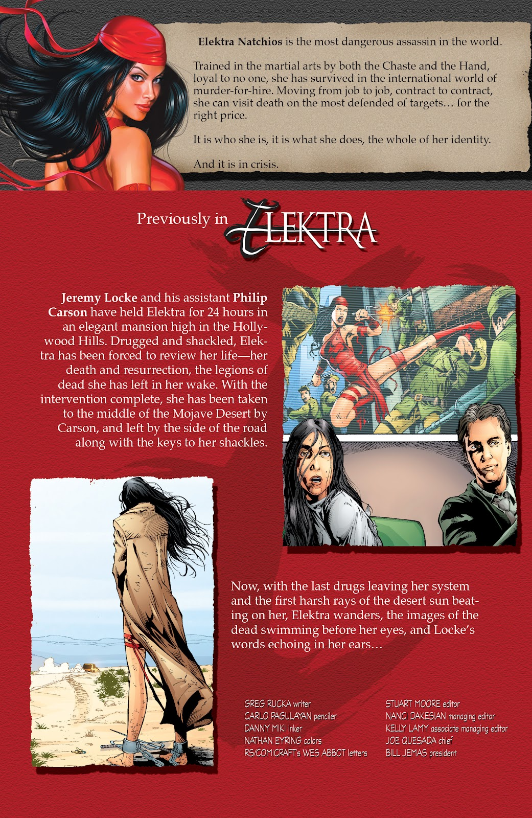 Read online Elektra (2001) comic -  Issue # _TPB Elektra by Greg Rucka Ultimate Collection (Part 2) - 56