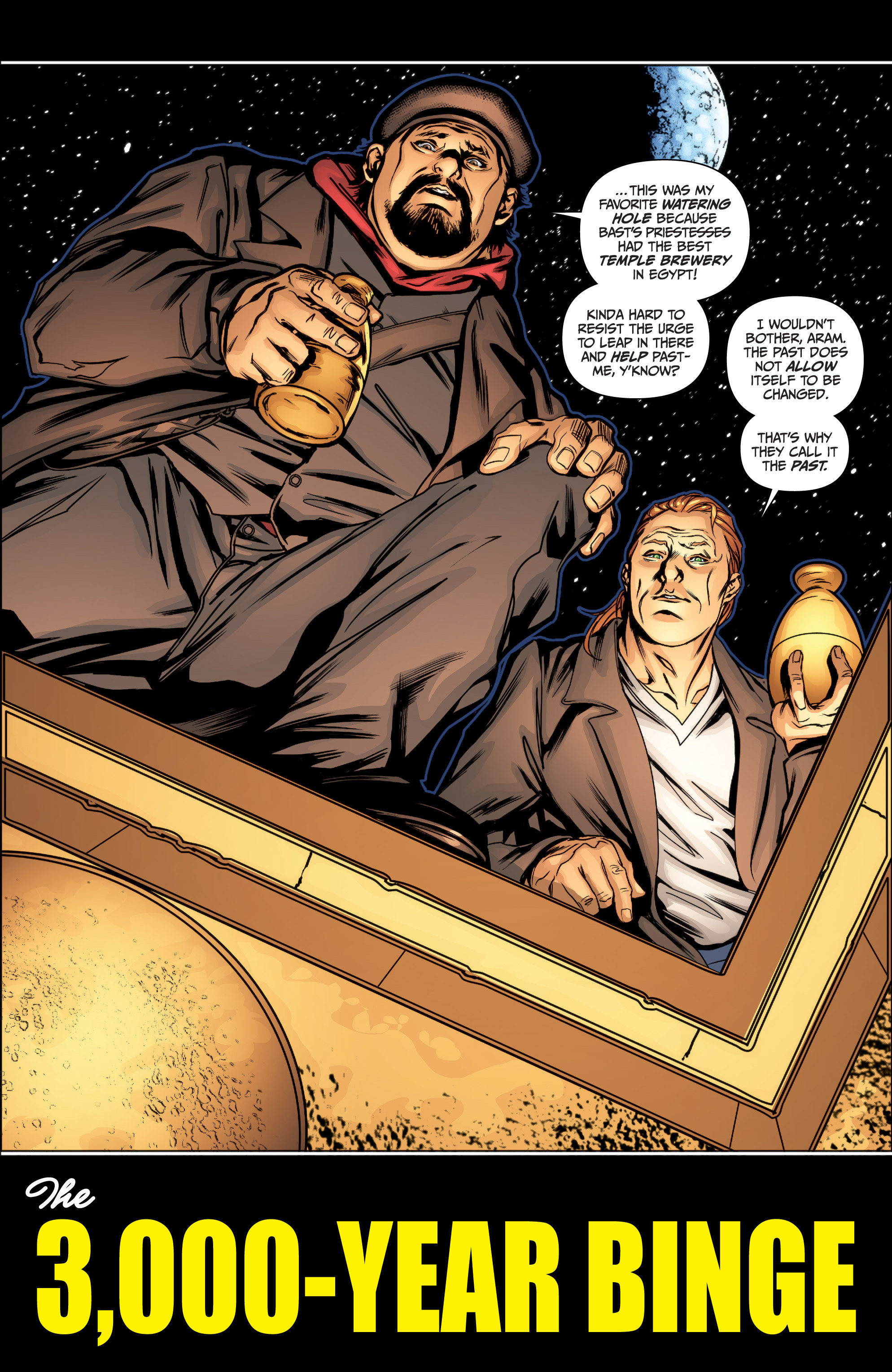 Read online Archer and Armstrong comic -  Issue #Archer and Armstrong _TPB 4 - 35
