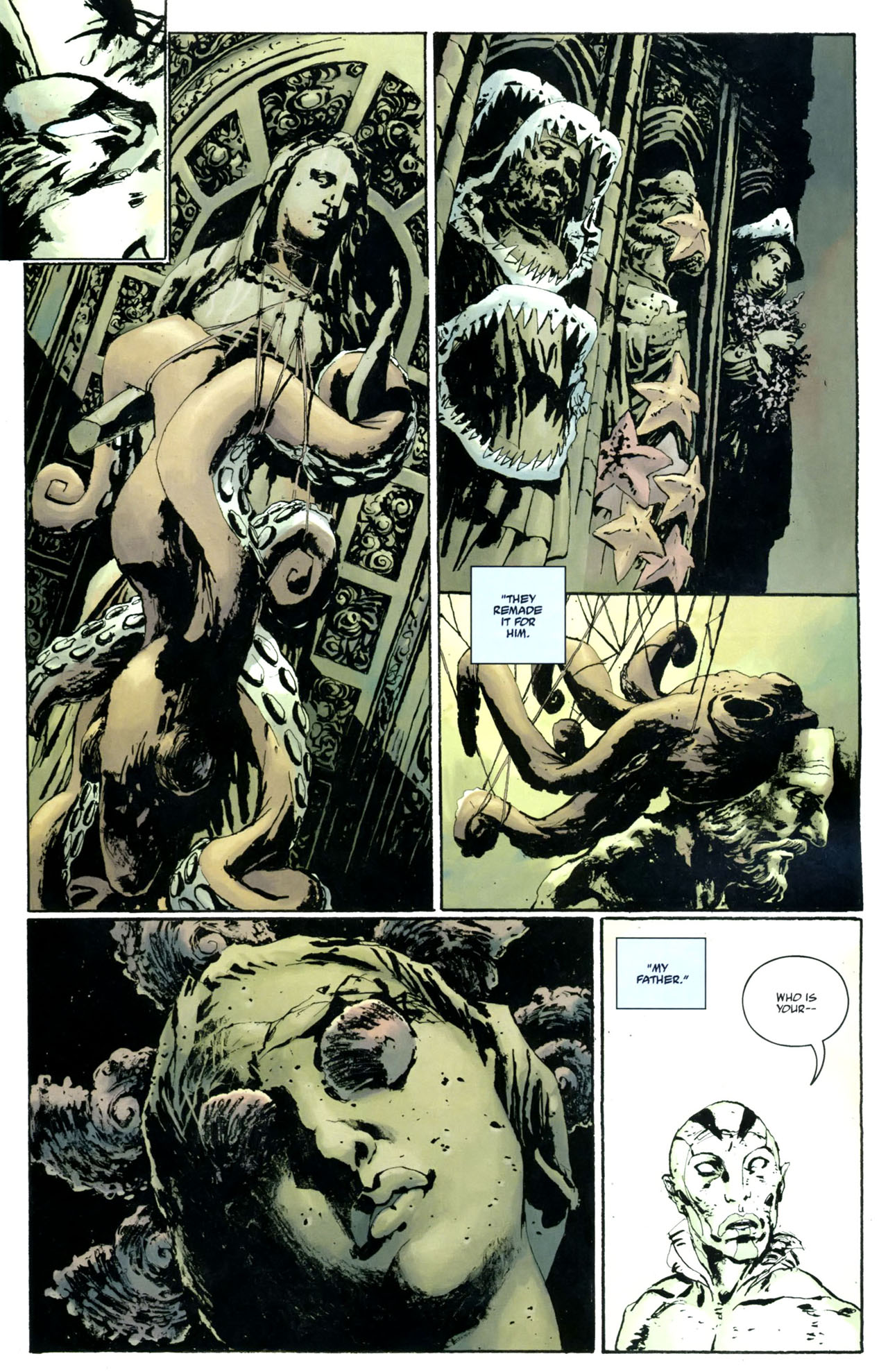 Read online Abe Sapien: The Drowning comic -  Issue #5 - 11
