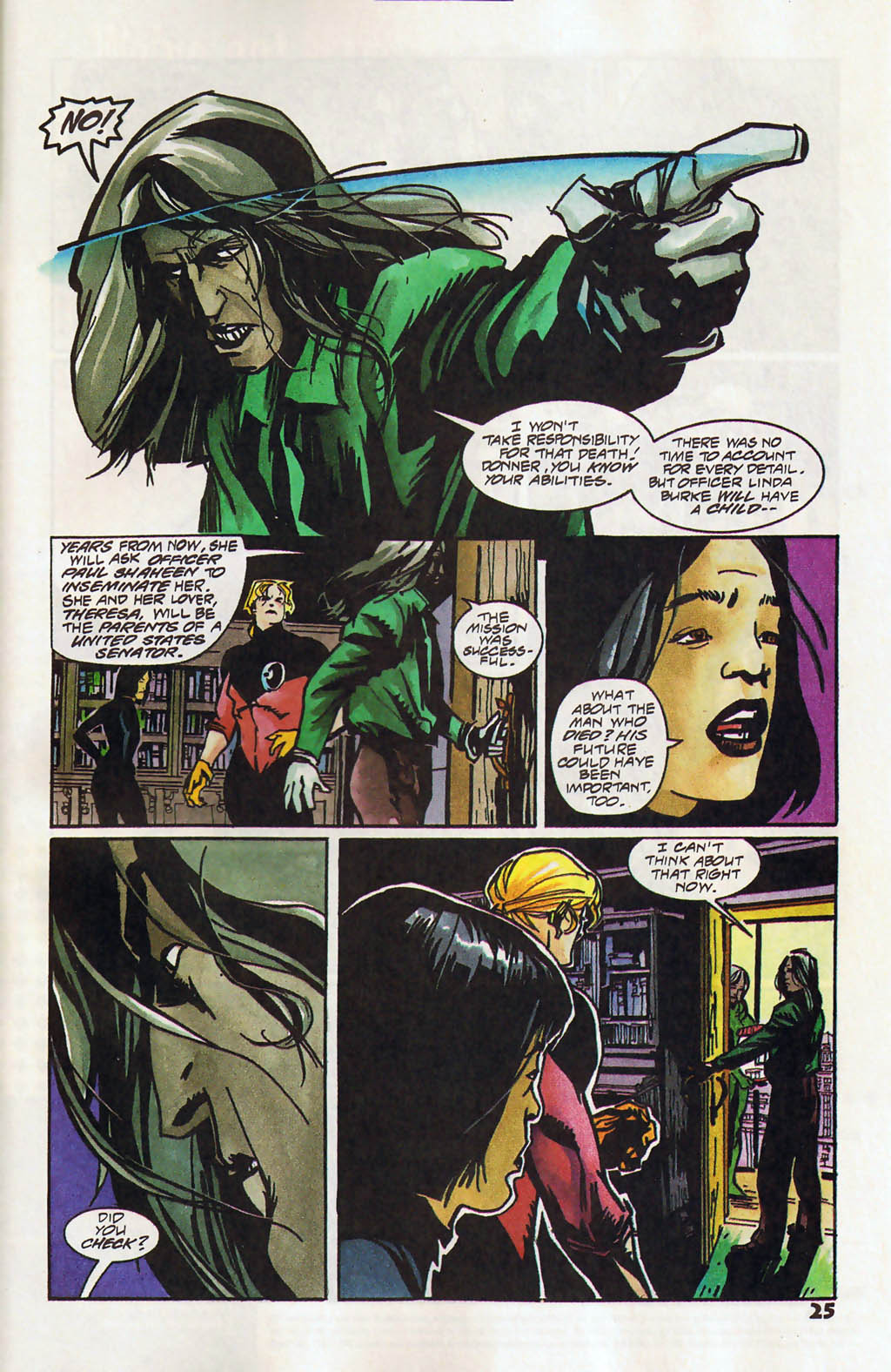 Read online Shadow Cabinet comic -  Issue #11 - 19