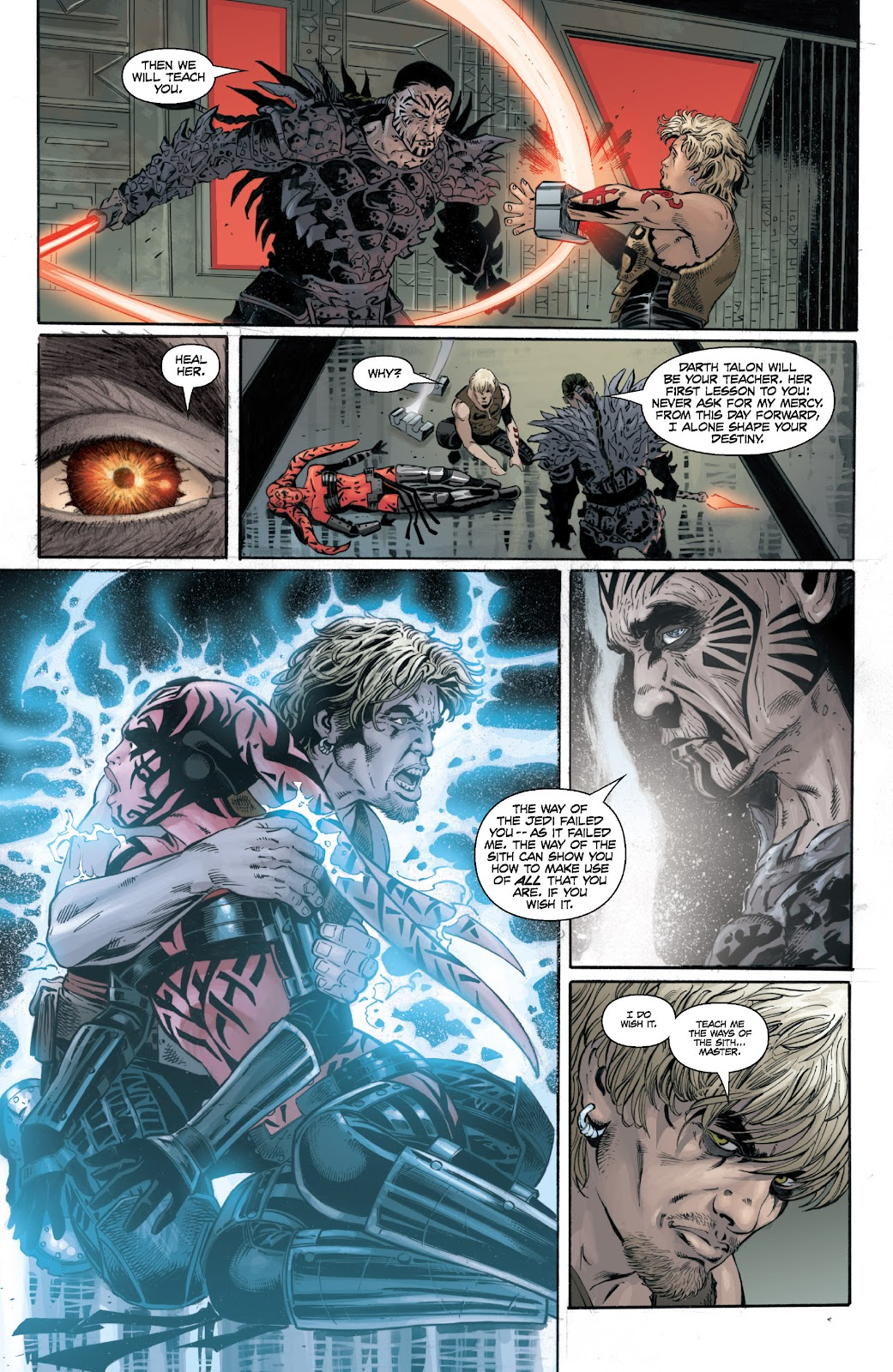 Read online Star Wars Legends: Legacy - Epic Collection comic -  Issue # TPB 1 (Part 4) - 88