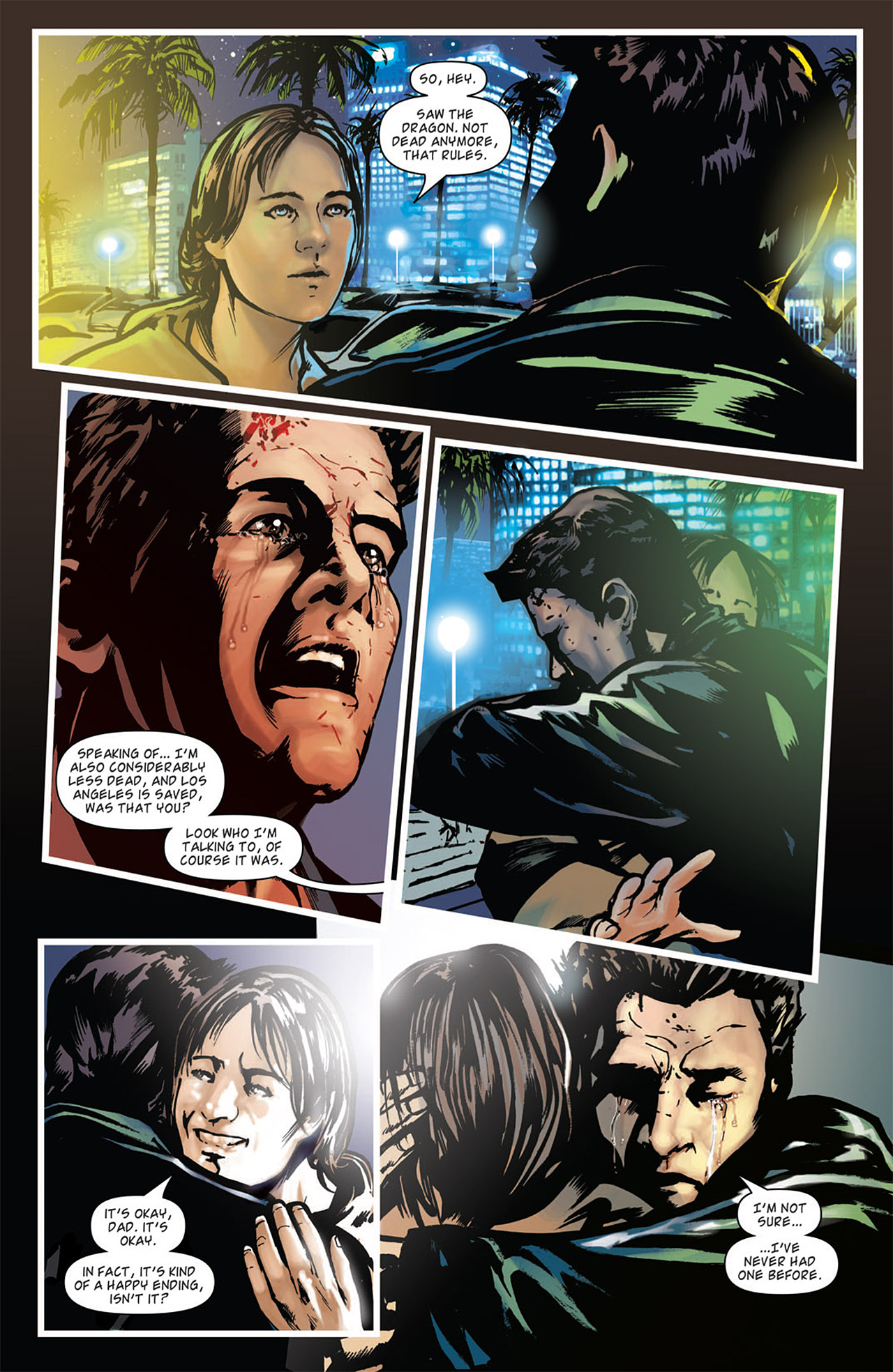 Read online Angel: After The Fall comic -  Issue #16 - 24