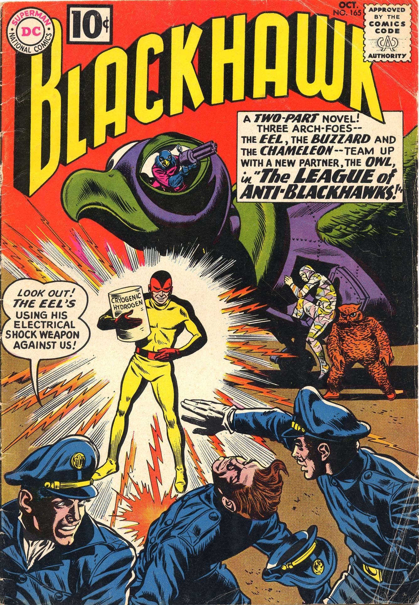 Blackhawk (1957) 165 Page 1