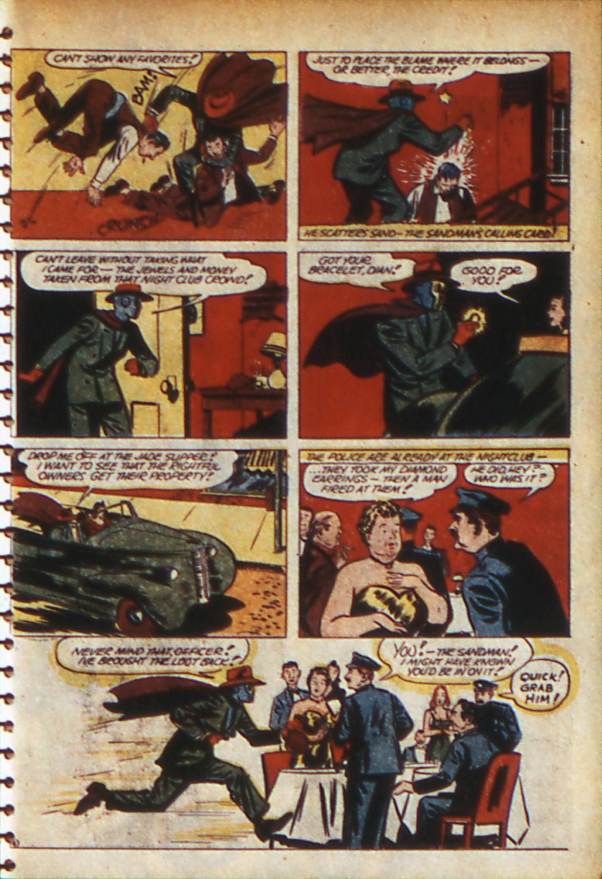 Read online Adventure Comics (1938) comic -  Issue #56 - 60