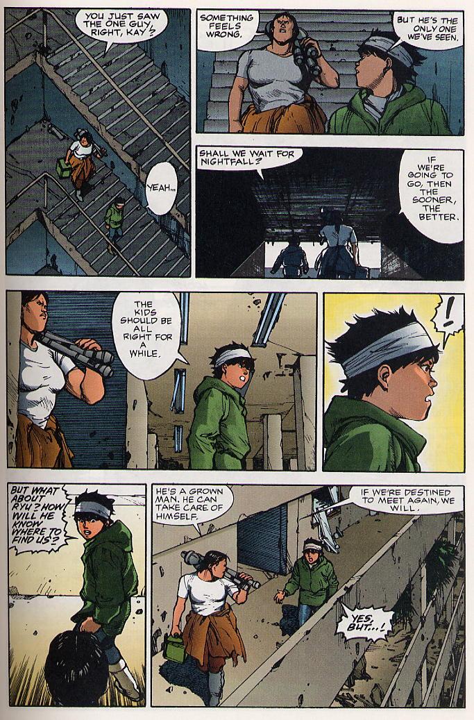 Read online Akira comic -  Issue #19 - 24