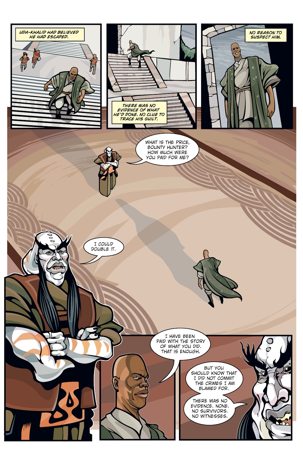Read online Star Wars Legends: Rise of the Sith - Epic Collection comic -  Issue # TPB 1 (Part 1) - 19