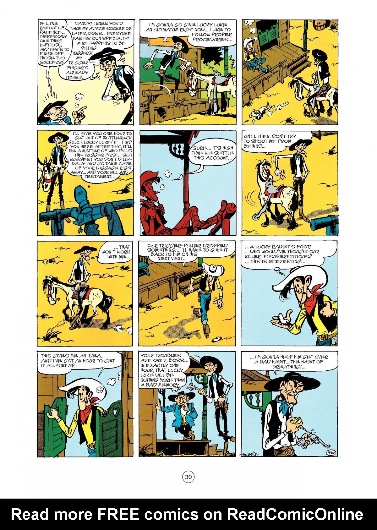 Read online A Lucky Luke Adventure comic -  Issue #40 - 30