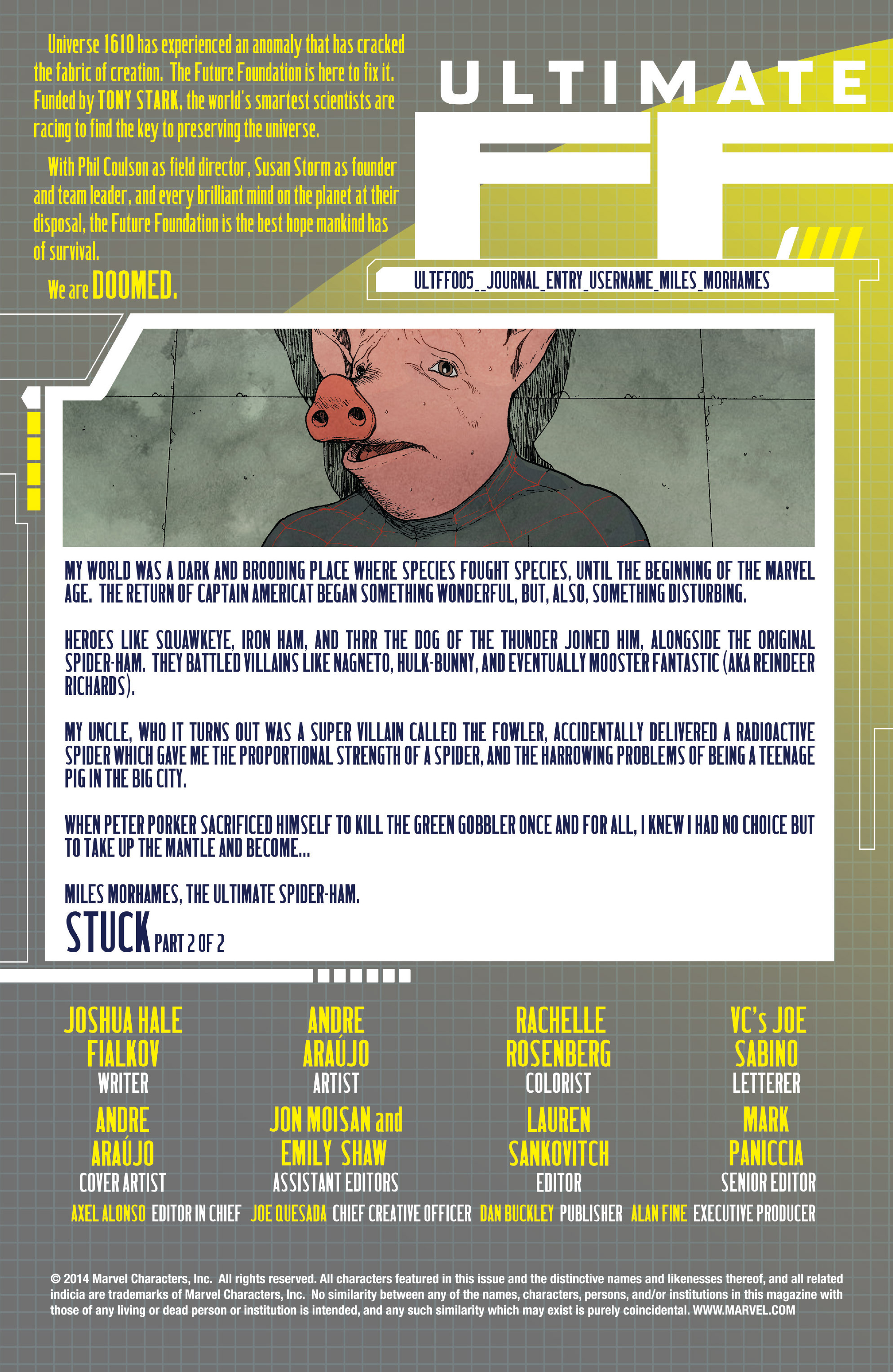Read online Ultimate FF comic -  Issue #5 - 2