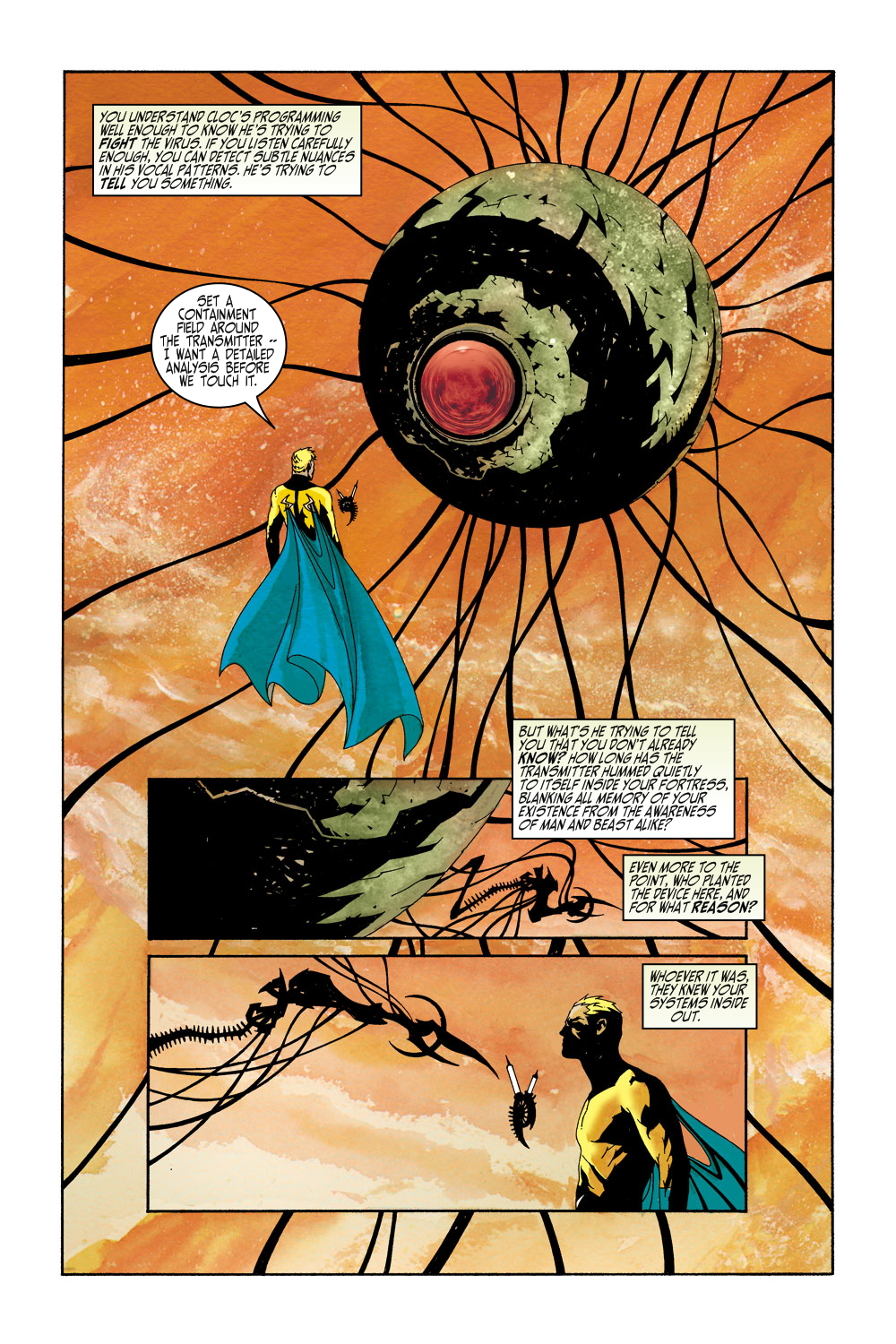 Read online Sentry (2000) comic -  Issue #5 - 3