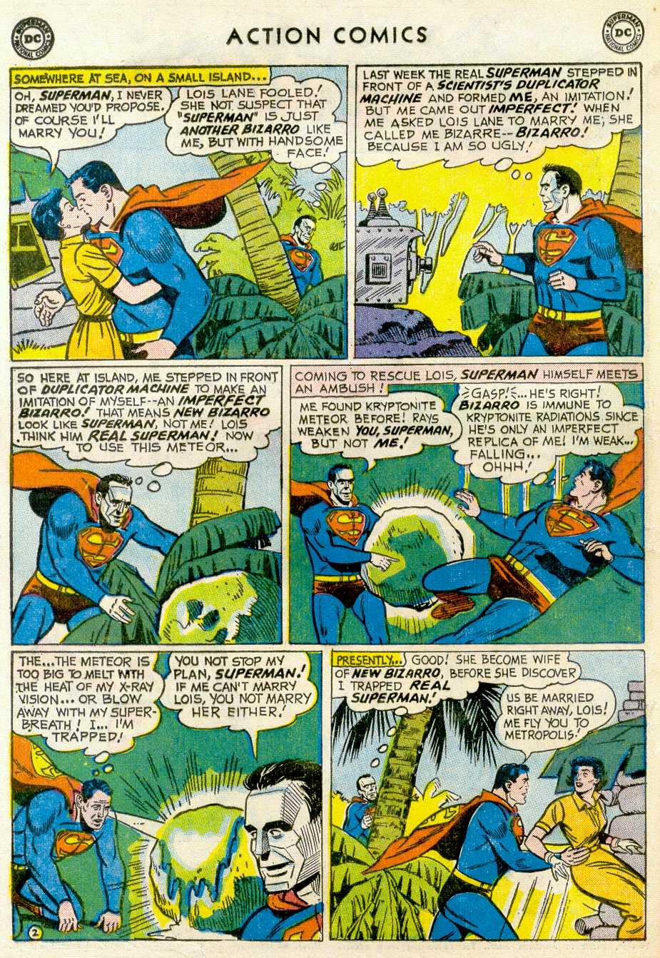 Read online Action Comics (1938) comic -  Issue #255 - 4