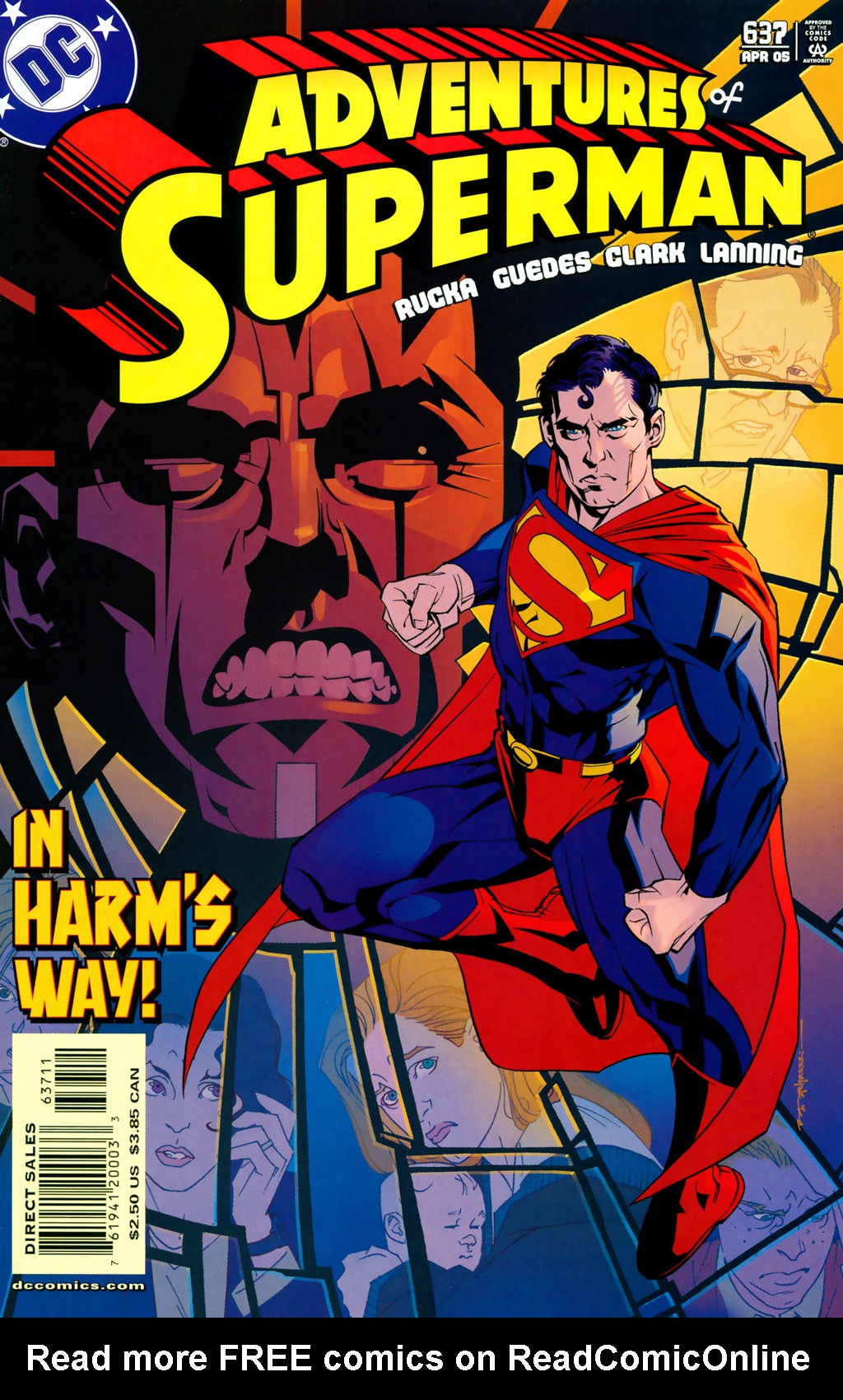 Adventures of Superman (1987) 637 Page 1