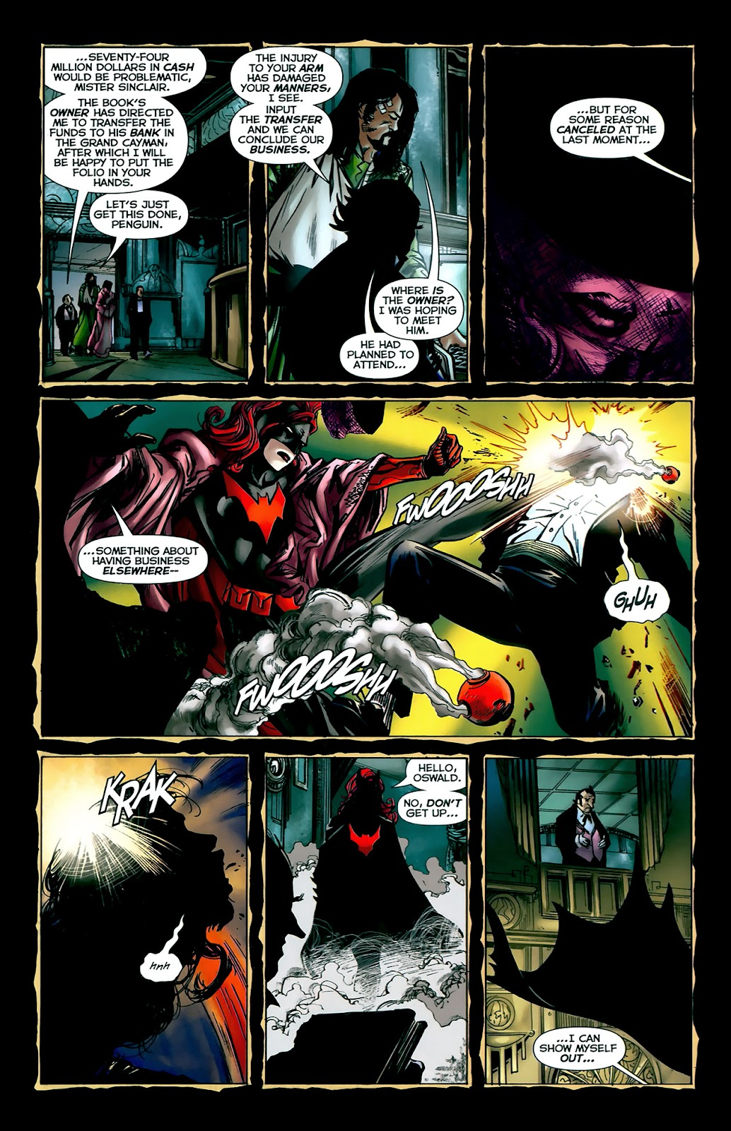 Crime Bible: The Five Lessons of Blood issue 3 - Page 16