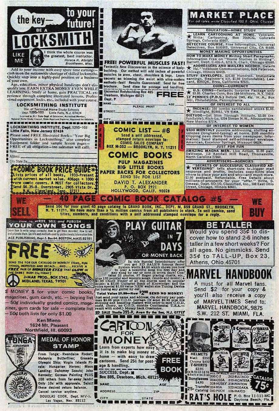 Read online Uncanny X-Men (1963) comic -  Issue #85 - 22