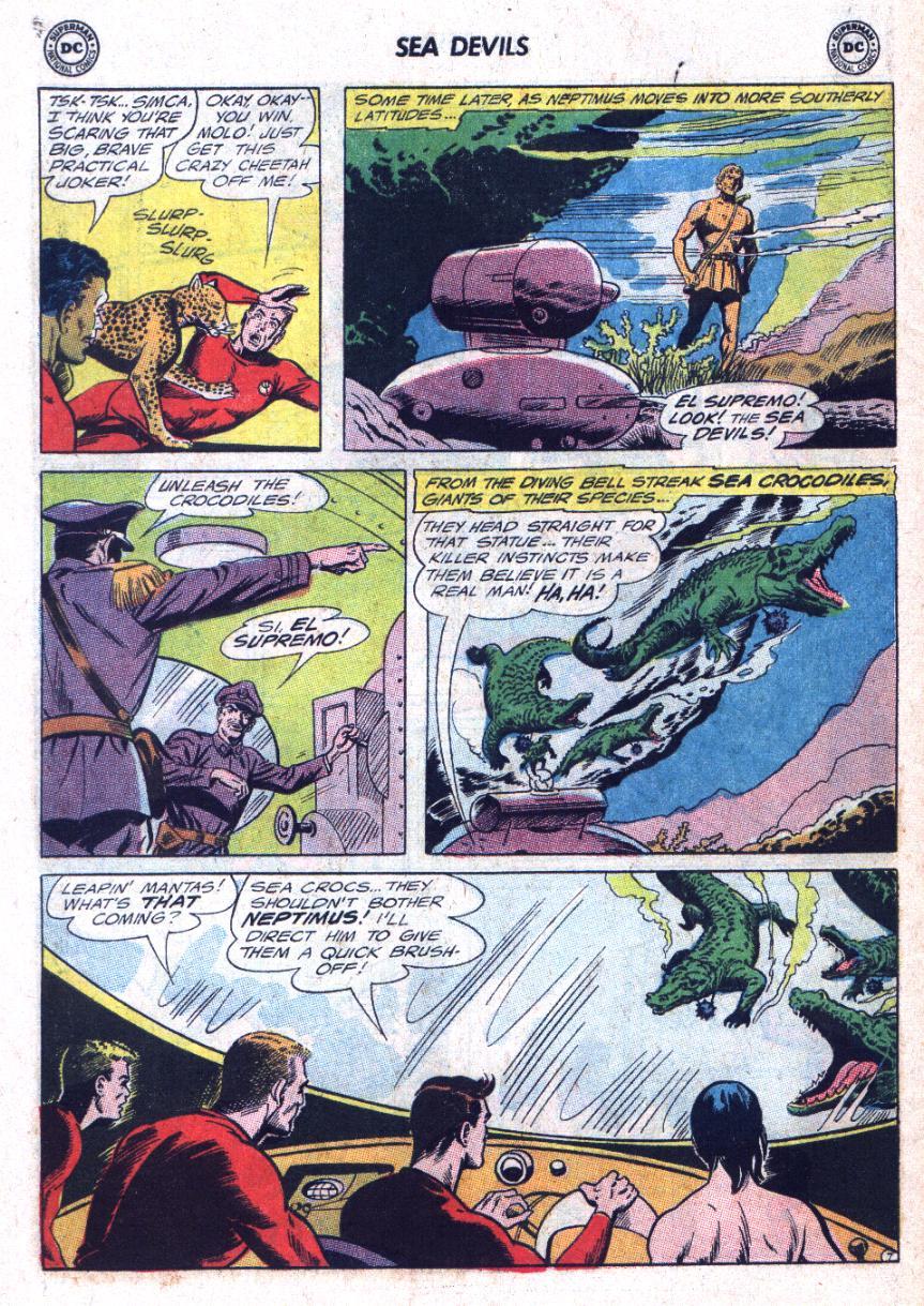 Read online Sea Devils comic -  Issue #25 - 11