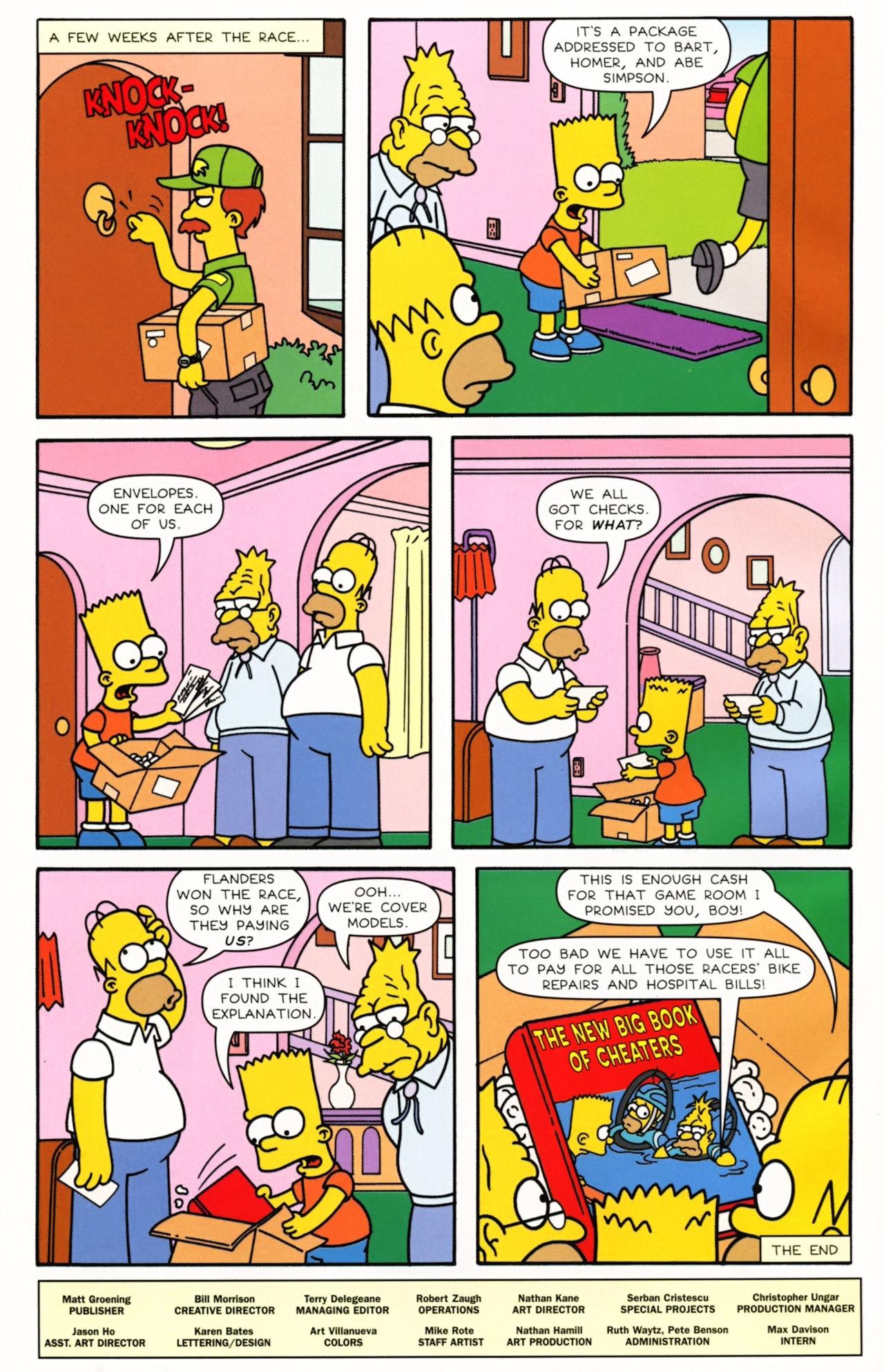 Read online Simpsons Comics comic -  Issue #166 - 26