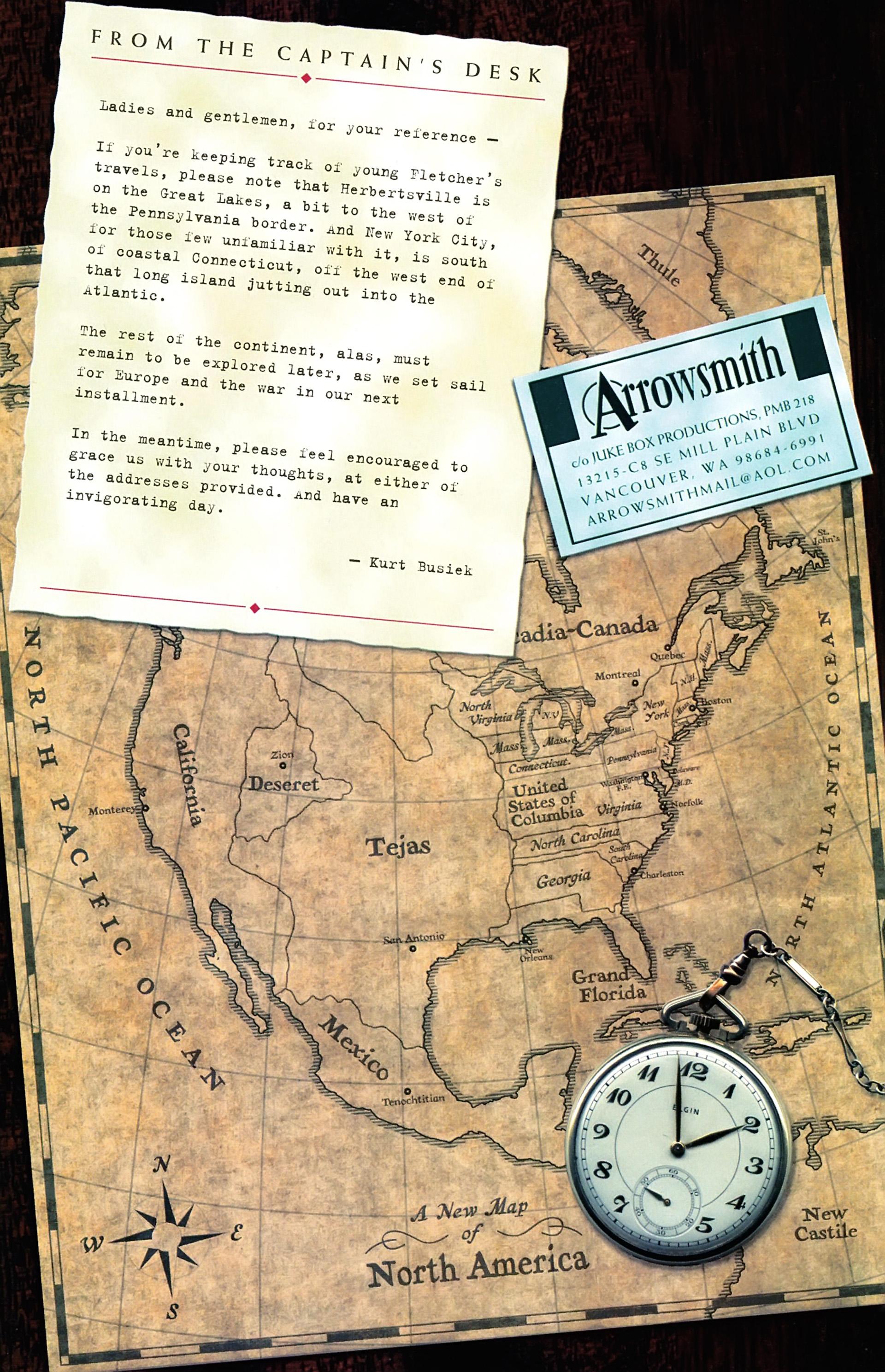 Read online Arrowsmith comic -  Issue #2 - 22