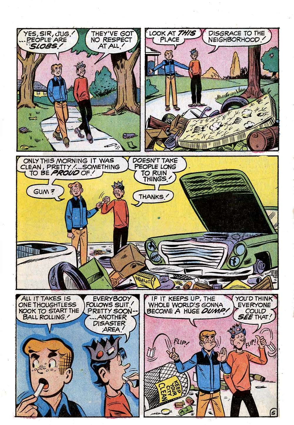 Read online Archie (1960) comic -  Issue #210 - 7