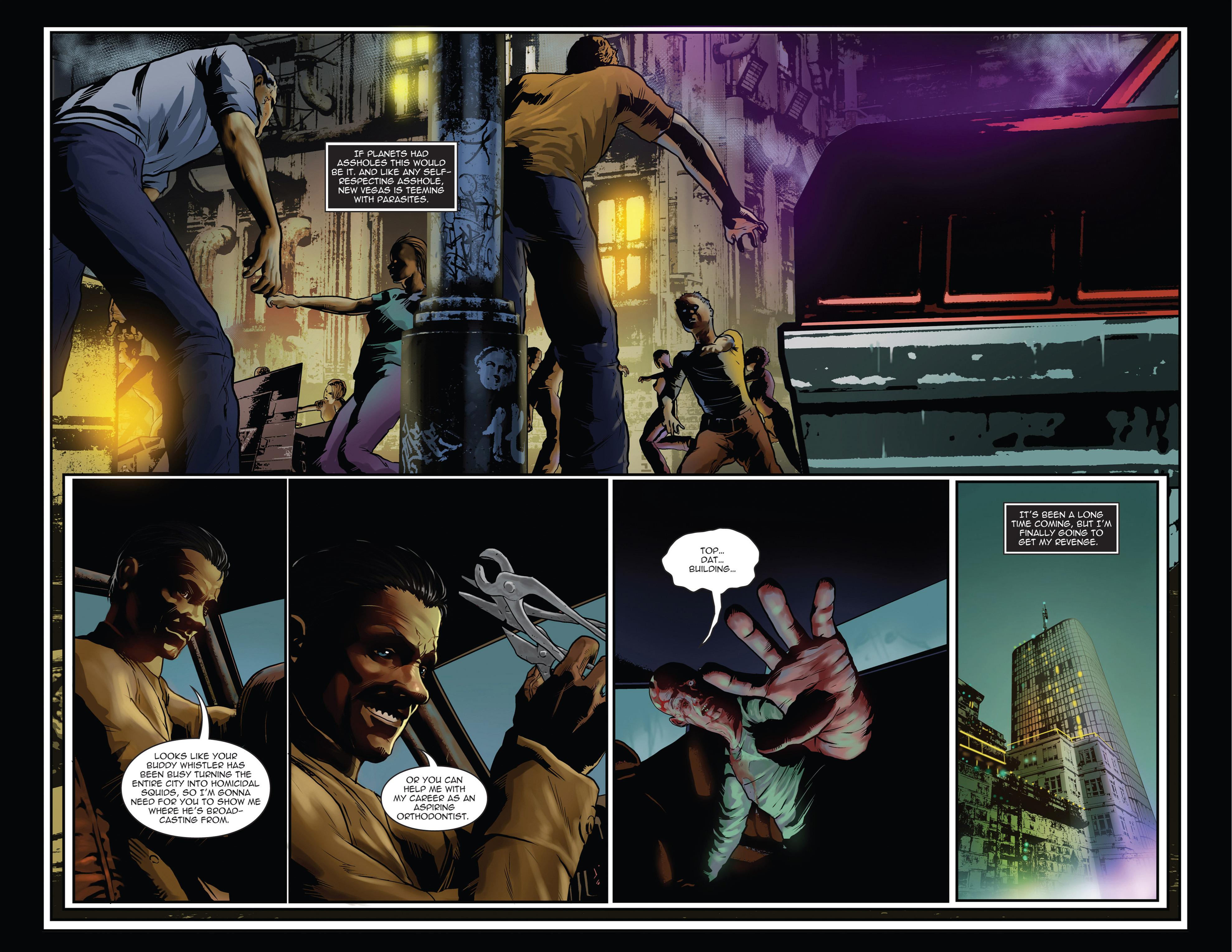 Read online Trancers comic -  Issue #1 - 6