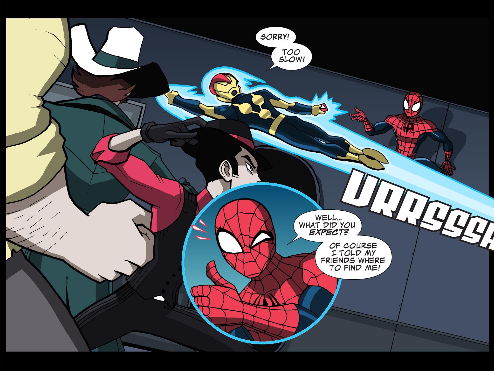 Read online Ultimate Spider-Man (Infinite Comics) (2015) comic -  Issue #19 - 17