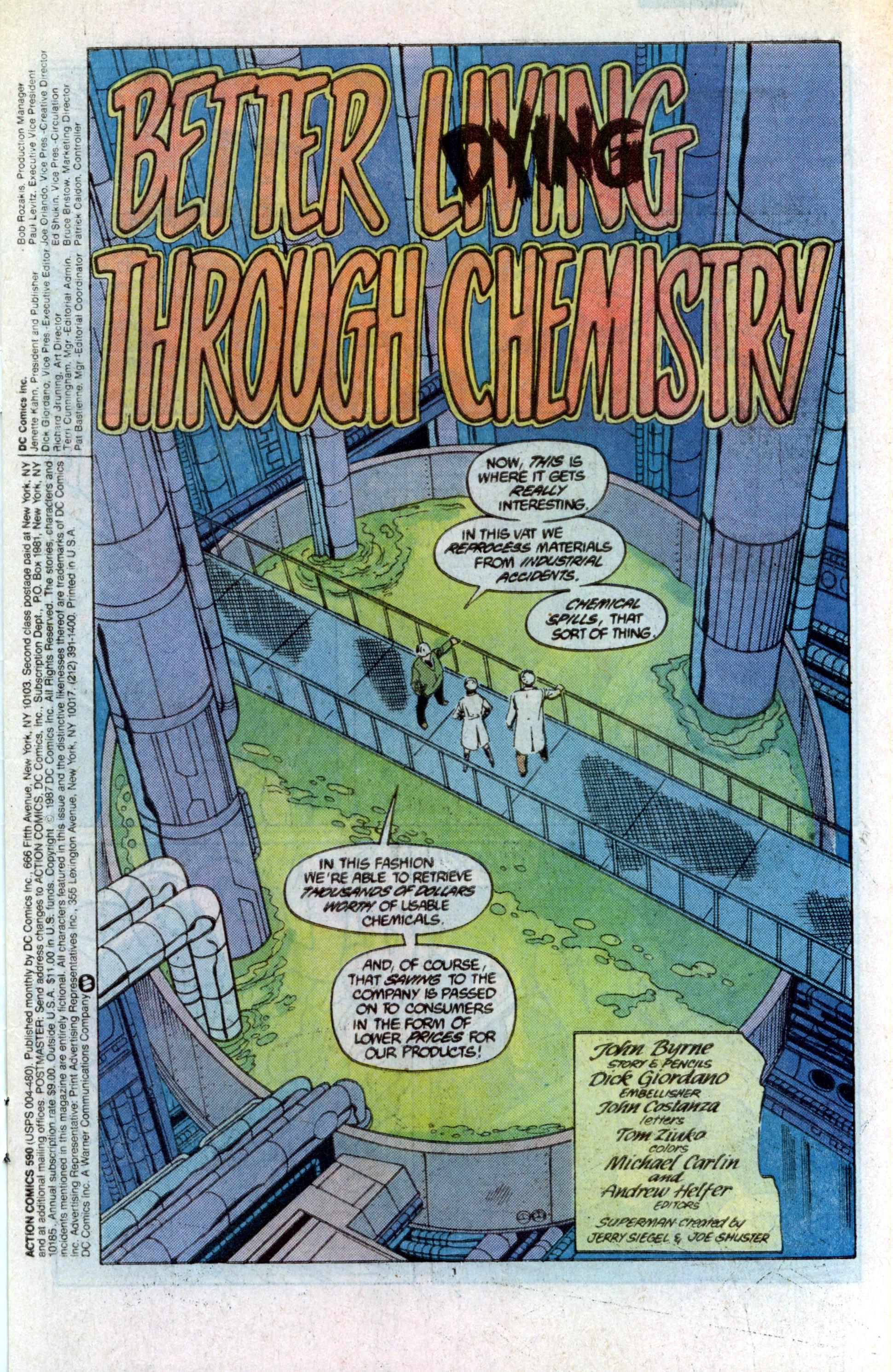 Action Comics (1938) 590 Page 1