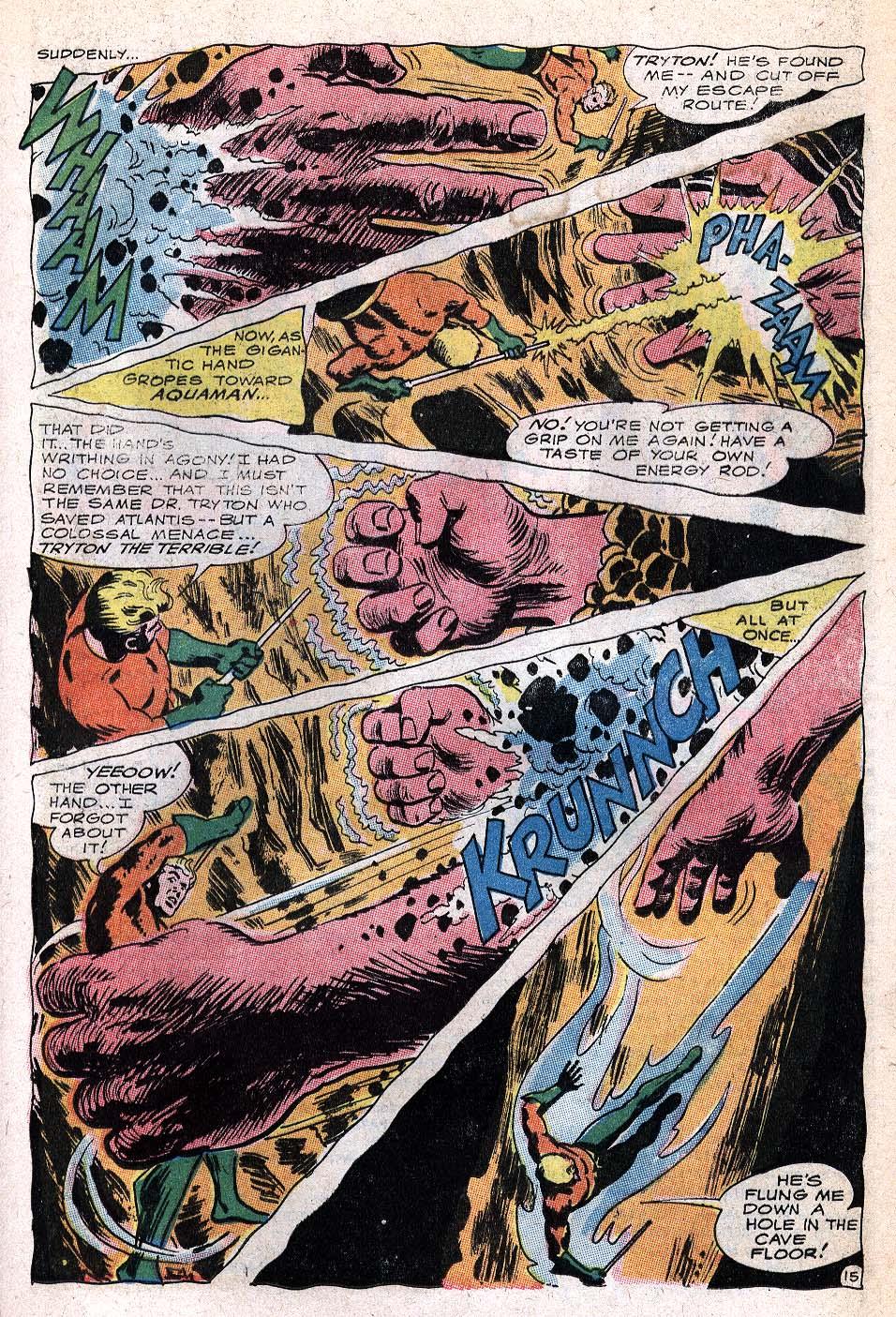 Read online Aquaman (1962) comic -  Issue #32 - 21