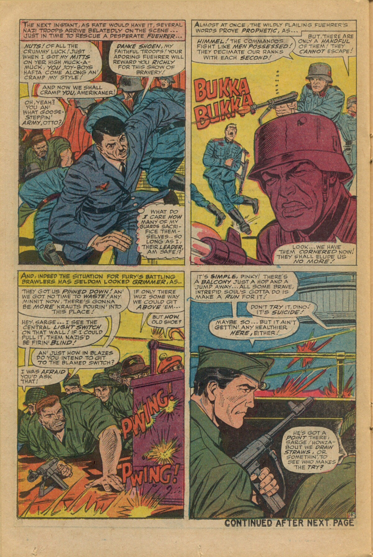 Read online Sgt. Fury comic -  Issue #35 - 22